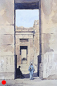 Entrance to Medinet Habu